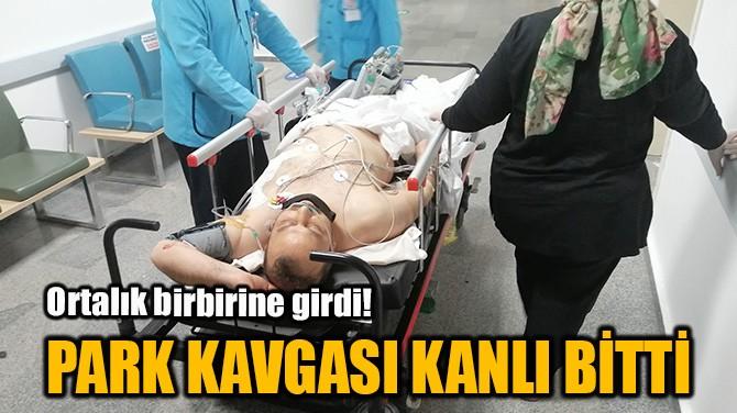 PARK KAVGASI KANLI BİTTİ
