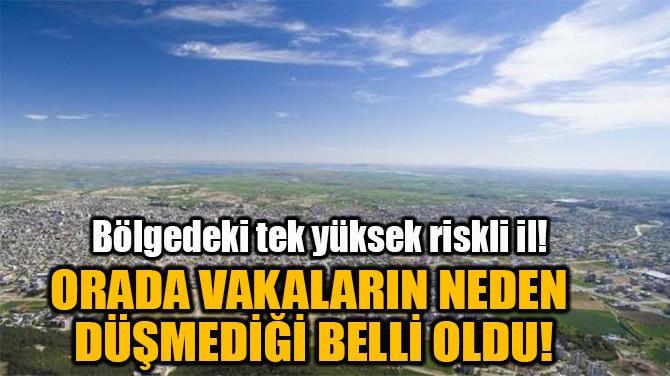 ADIYAMAN'DA VAKALARIN NEDEN  DÜŞMEDİĞİ BELLİ OLDU!