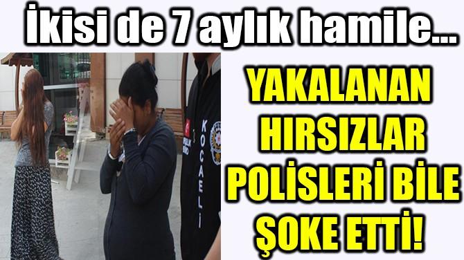 YAKALANAN HIRSIZLAR POLİSLERİ BİLE ŞOKE ETTİ!