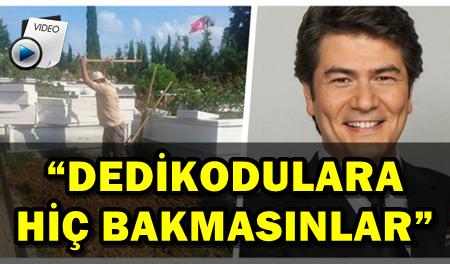 VATAN ŞAŞMAZ'IN KABRİ ZİYARETÇİ AKININA UĞRADI!...