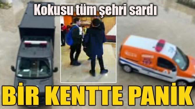 BİR KENTTE PANİK