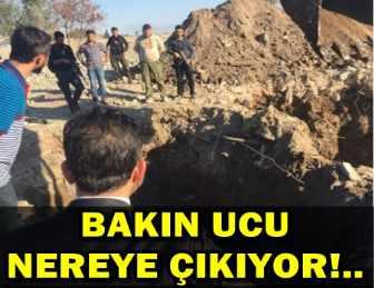 NUSAYBİN'DEN SURİYE'YE UZANAN TÜNEL BULUNDU!..