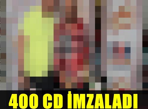 HANGİ ÜNLÜ SANATÇI İMZA GÜNÜNDE İKİ SAATTE 400 CD İMZALADI?..