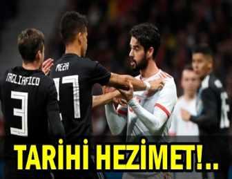 İSPANYA, ARJANTİN'E ACIMADI!.. TAM 7 GOL!..