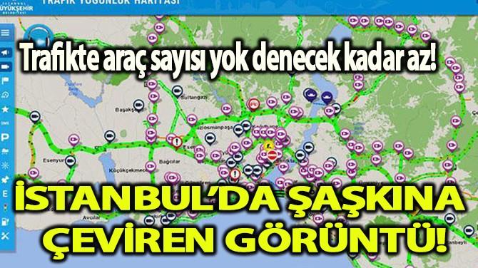 BAYRAM TATİLİ İSTANBUL TRAFİĞİNİ RAHATLATTI!