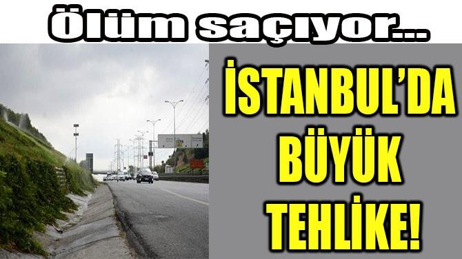 İSTANBUL'DA  BÜYÜK TEHLİKE!