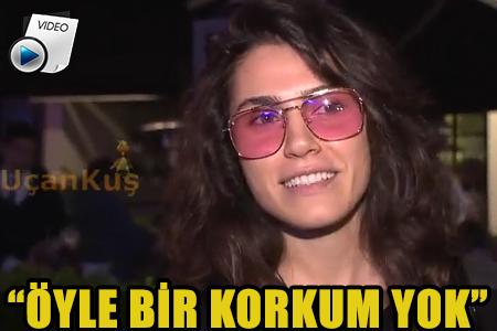 GÜZEL OYUNCU SERENAY AKTAŞ MESLEKTAŞLARINA MEYDAN OKUDU!..