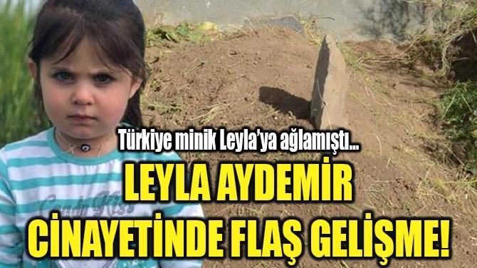 LEYLA AYDEMİR CİNAYETİNDE FLAŞ GELİŞME!