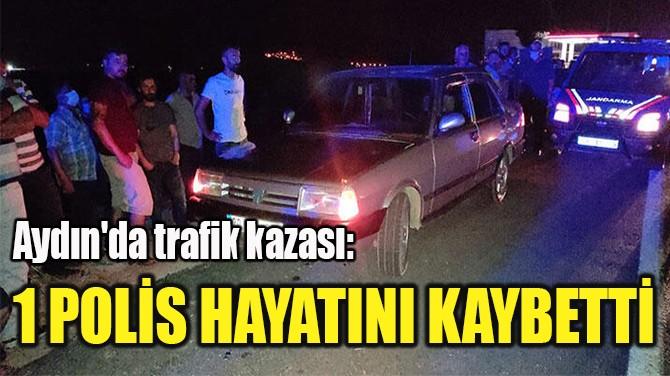 1 POLİS HAYATINI KAYBETTİ