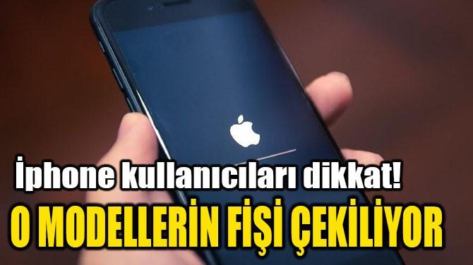 MODELLERİN FİŞİ ÇEKİLİYOR