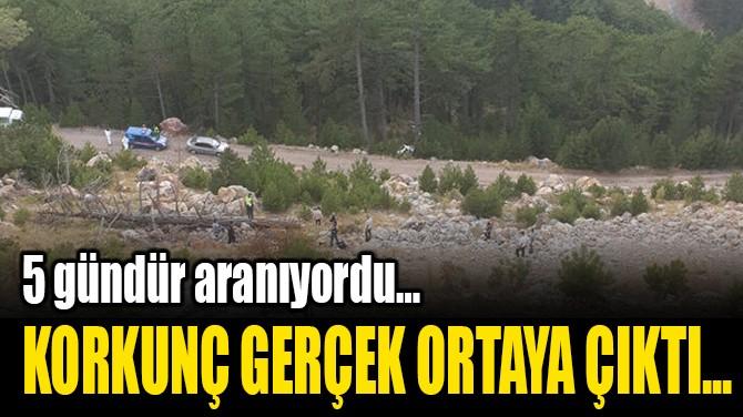 KORKUNÇ GERÇEK ORTAYA ÇIKTI...