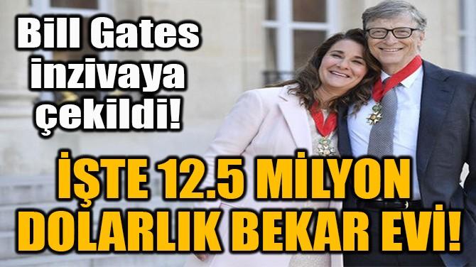 İŞTE 12.5 MİLYON  DOLARLIK BEKAR EVİ!