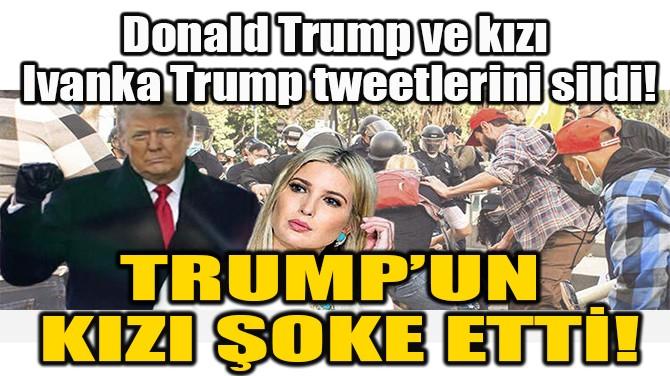 TRUMP'UN  KIZI ŞOKE ETTİ!