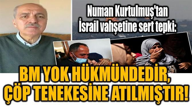"""""""BM YOK HÜKMÜNDEDİR,  ÇÖP TENEKESİNE ATILMIŞTIR!"""""""