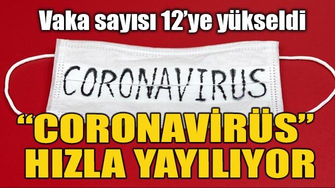 """""""CORONAVİRÜS"""" HIZLA YAYILIYOR"""