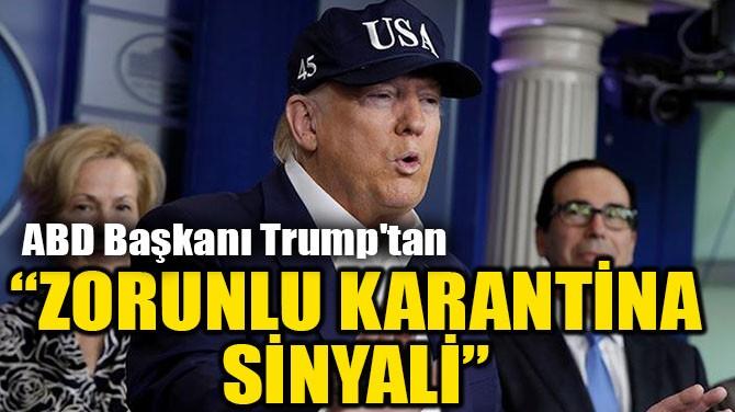 """""""ZORUNLU KARANTİNA SİNYALİ"""""""