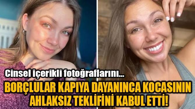 KOCASININ  AHLAKSIZ TEKLİFİNİ KABUL ETTİ ...