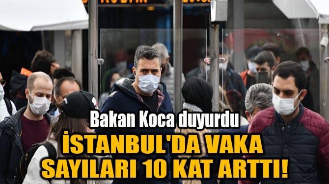 İSTANBUL'DA VAKA SAYILARI 10 KAT ARTTI!