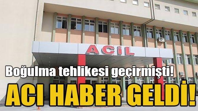 ACI HABER GELDİ!