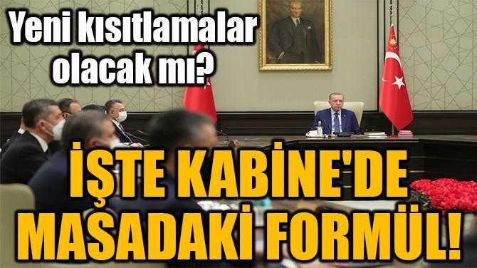 GÖZLER KABİNE'DE!