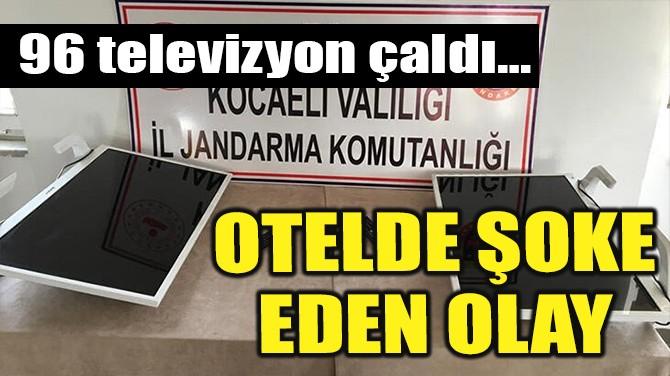 OTELDE ŞOKE EDEN OLAY!
