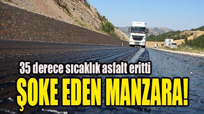 ŞOKE EDEN MANZARA!