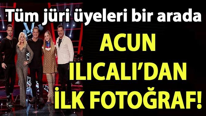 ACUN ILICALI'DAN İLK FOTOĞRAF!