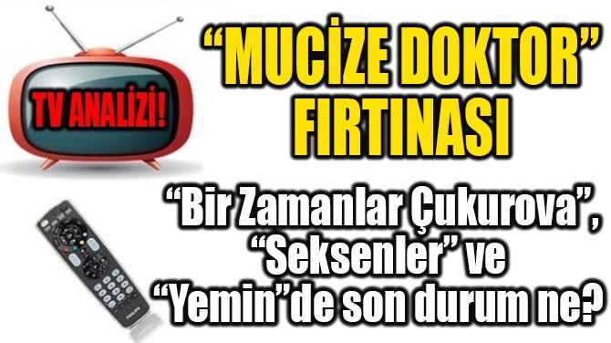 "RATINGLER BELLİ OLDU! ""MUCİZE DOKTOR"" FIRTINASI!"