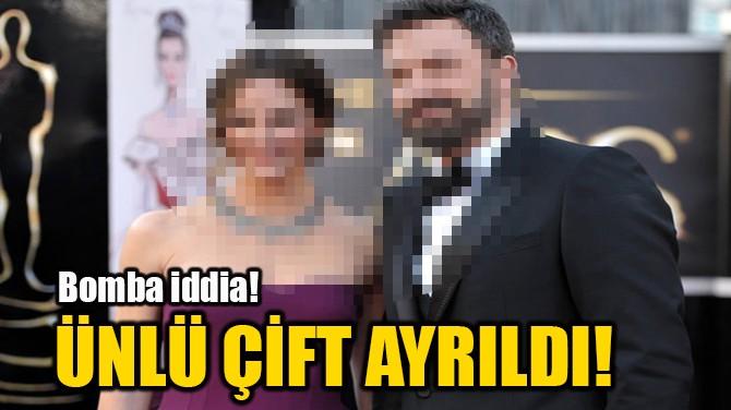 BEN AFFLECK İLE ANA DE ARMAS AYRILDI…