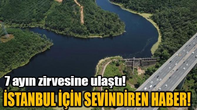 İSTANBUL İÇİN SEVİNDİREN HABER!