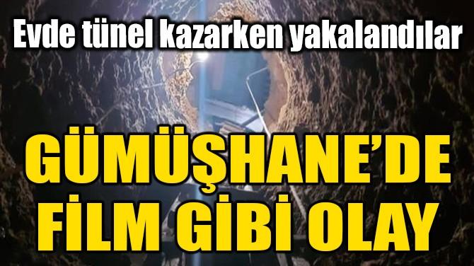 GÜMÜŞHANE'DE FİLM GİBİ OLAY!