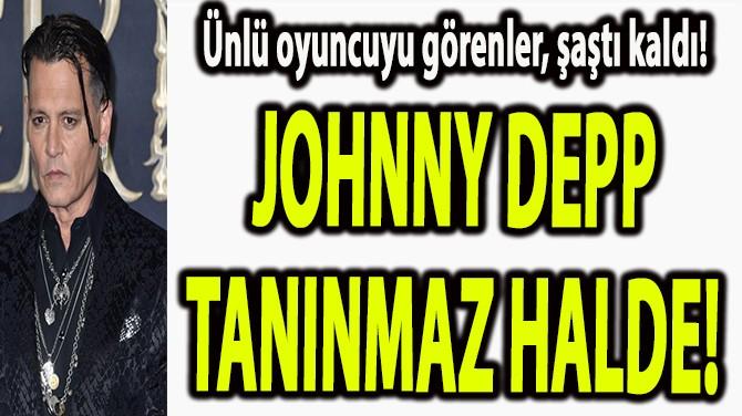 ÜNLÜ OYUNCU, TANINMAZ HALDE!