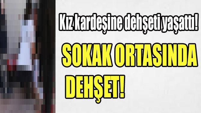 KOCAELİ'NDE SOKAK ORTASINDA DEHŞET!