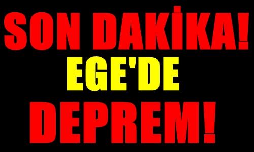FLAŞ! SON DAKİKA GÖKÇEADA AÇIKLARINDA DEPREM MEYDANA GELDİ!..