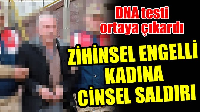 ZİHİNSEL ENGELLİ KADINA CİNSEL SALDIRI
