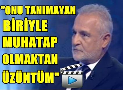 "VİDEO HABER! KENAN IŞIK'TAN YARIŞMACIYA ""TUNCEL KURTİZ"" ÇIKIŞI!"