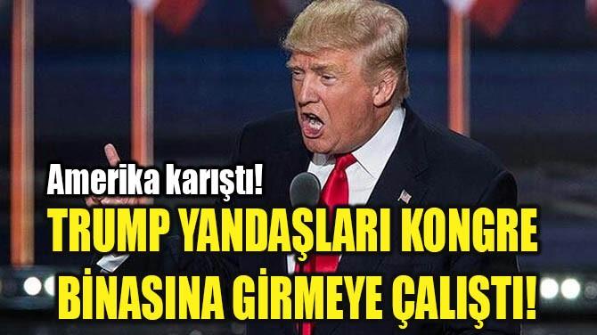AMERİKA KARIŞTI!