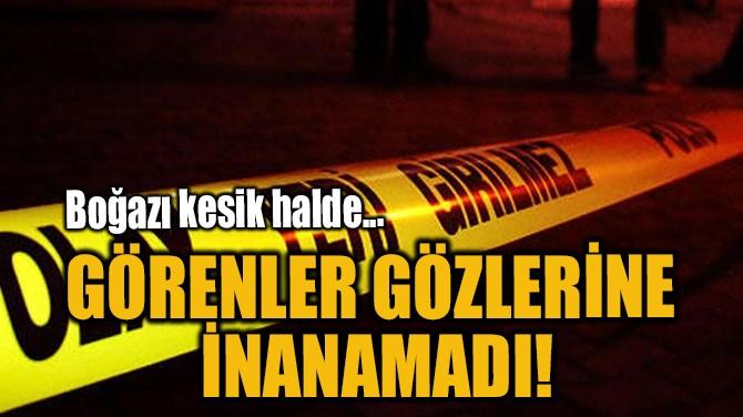 GÖRENLER GÖZLERİNE İNANAMADI!