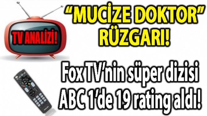 """RATINGLER BELLİ OLDU! """"MUCİZE DOKTOR"""" RÜZGARI!"""