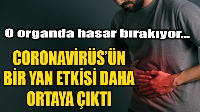 CORONVİRÜS'ÜN BİR YAN ETKİSİ DAHA ORTAYA ÇIKTI!