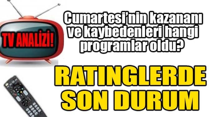 RATINGLERDE SON DURUM