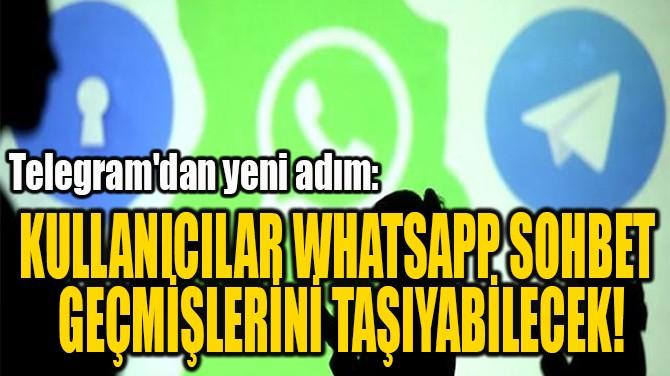 TELEGRAM'DAN YENİ ADIM!