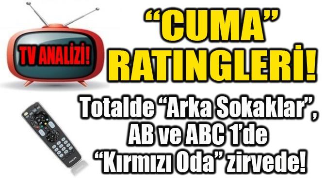 """""""CUMA""""  RATINGLERİ!"""
