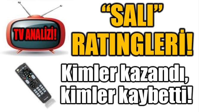 """""""SALI"""" RATINGLERİ!"""