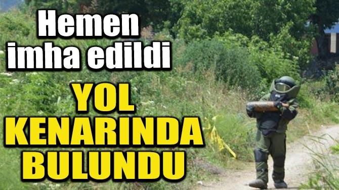 YOL KENARINDA BULUNDU!
