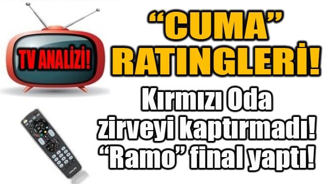 """""""KIRMIZI ODA"""" ZİRVEYİ KAPTIRMADI!"""