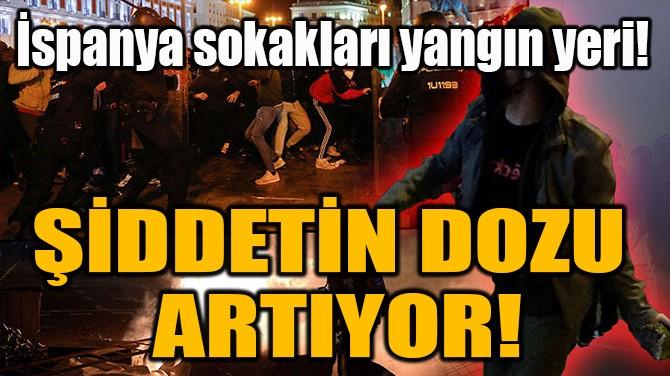 ŞİDDETİN DOZU  ARTIYOR!