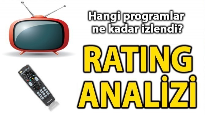 """EŞKIYA"", ""KADIN"", ""MASTERCHEF"" VE ""ÇOCUK""UN RATING KARNESİ!"