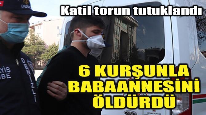 6 KURŞUNLA BABAANNESİNİ ÖLDÜRDÜ!