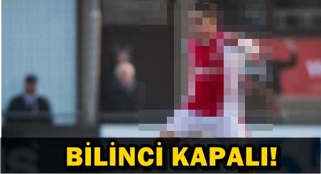 GENÇ FUTBOLCUNUN KALBİ DURDU!